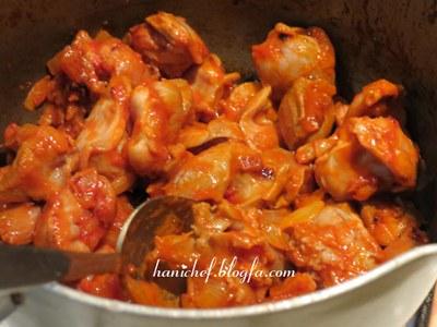 لذت آشپزی با هانی شف - خوراک سنگدان مرغ