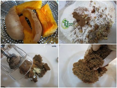 کیک کدو حلوایی طرز تهیه کیک طرز تهیه پوره کدو حلوایی تزیین کیک آموزش کیک آموزش آشپزی